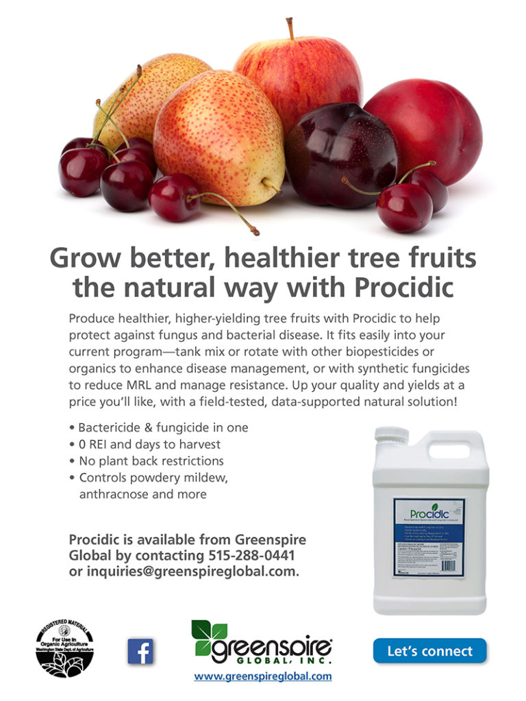 Greenspire Tree Fruits e-blast