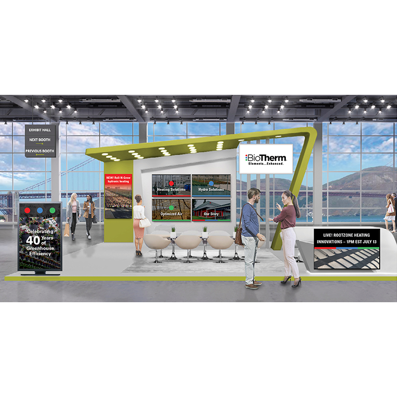 BioTherm virtual booth