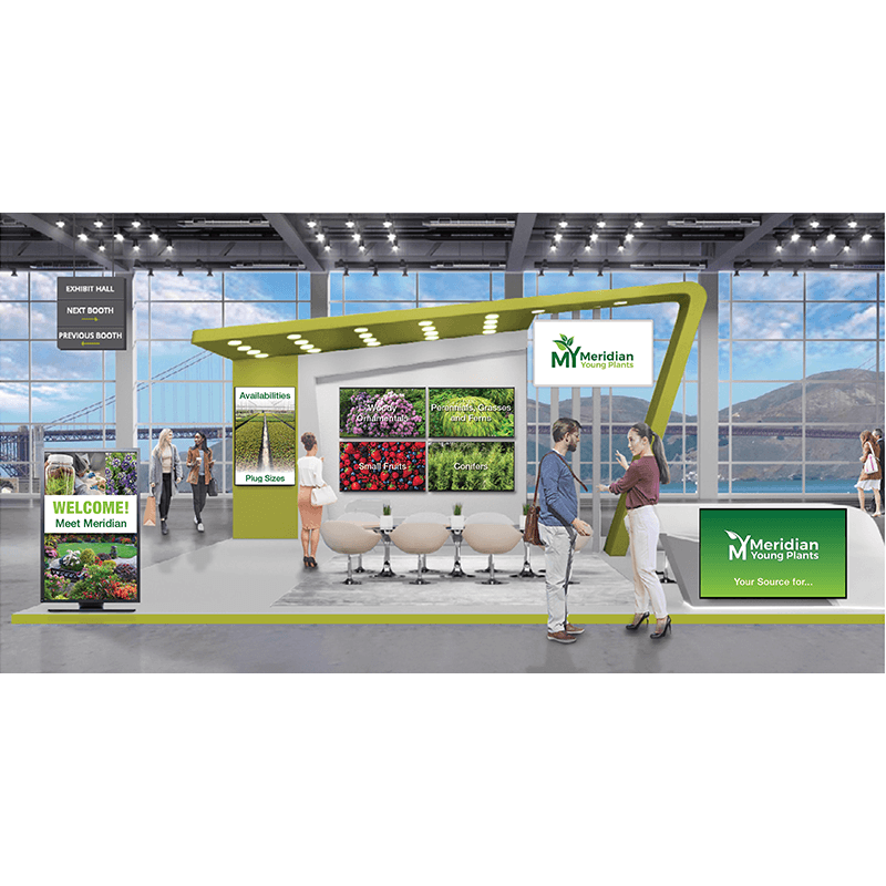 Meridian Young Plants virtual booth