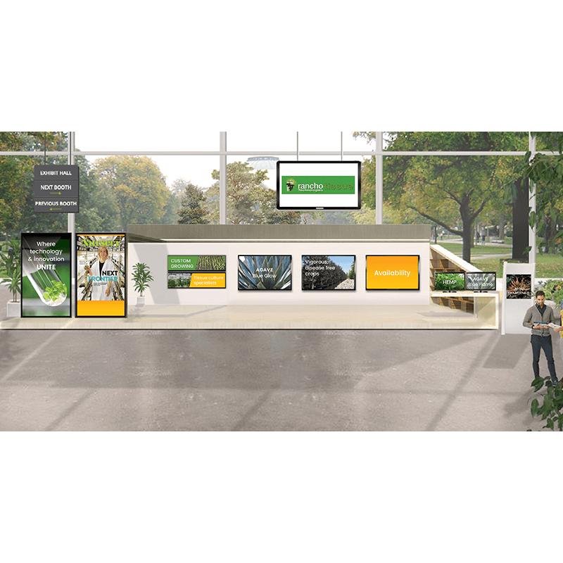 Rancho Tissue virtual booth